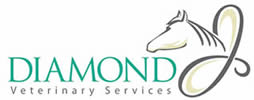 Diamond J Equine Veterinary Services, Texas USA Logo